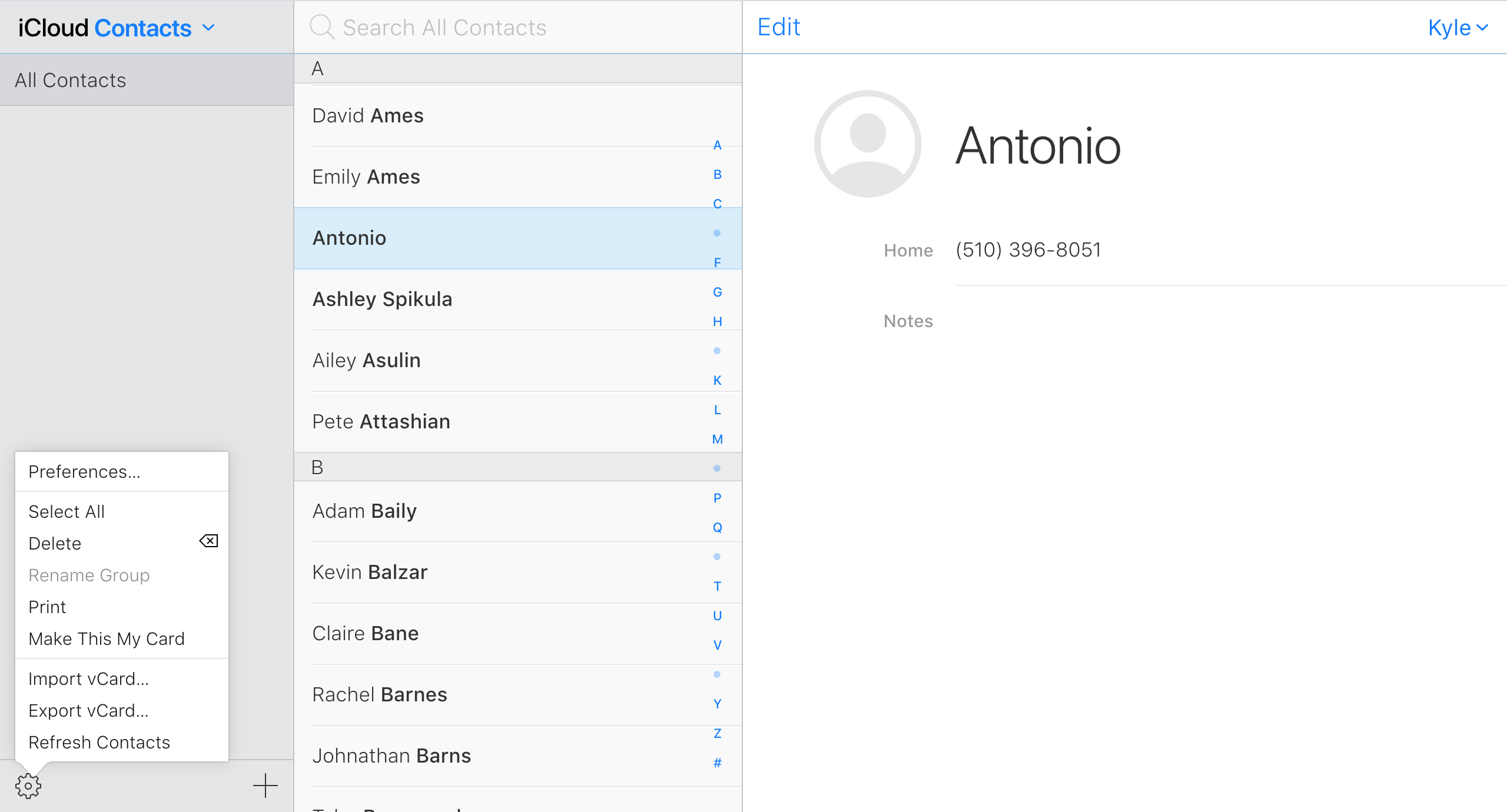 How to Export Your iPhone and iPad Contacts From iCloud