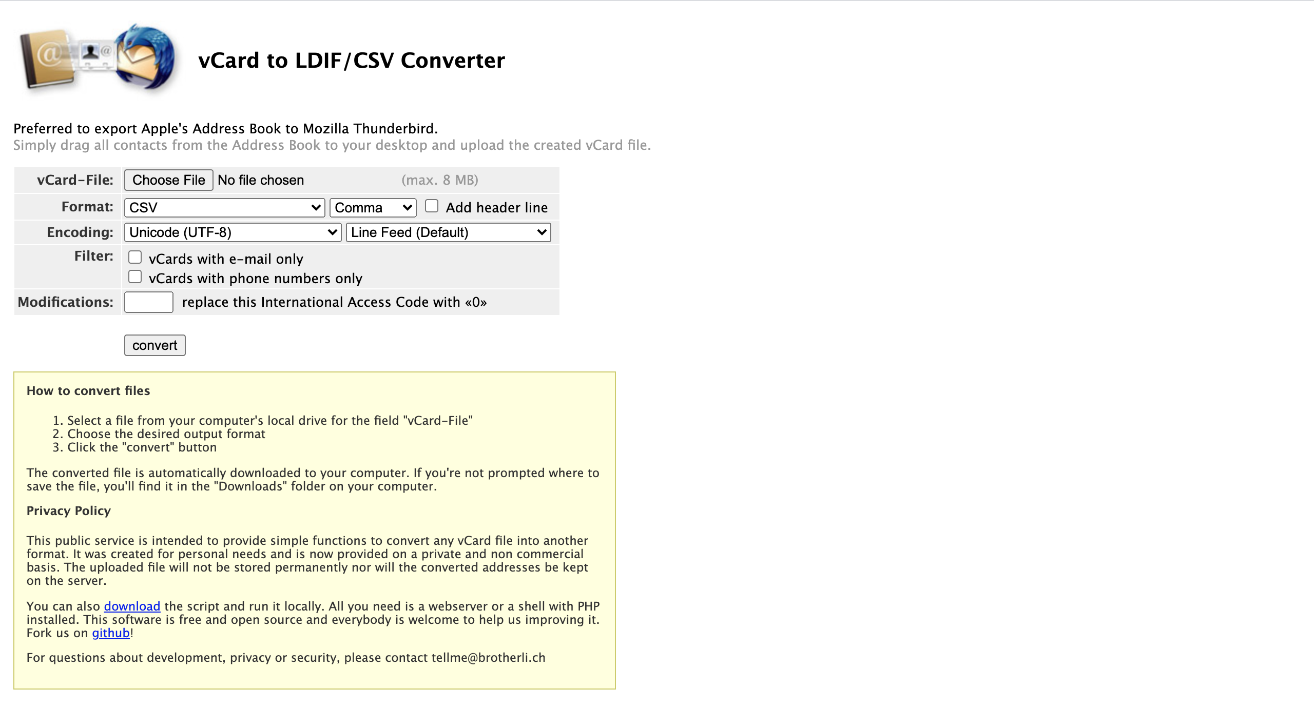 How to Convert Your iCloud .vcf Contacts Into a CSV